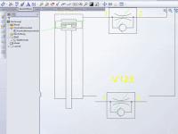 Pneumatikkonstruktion mit SolidWorks