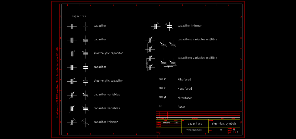 Summary Autocad Electrical Symbols Library Preview Archblocks